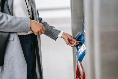 bankomat výběr