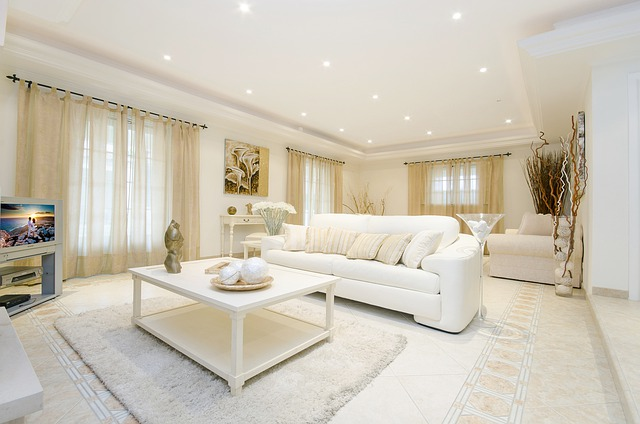 čistý obývák
