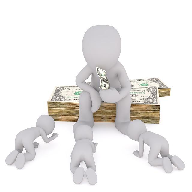 sedět na penězích